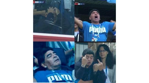 Марадона може и да не е шмъркал, а да се е напил яко преди мача