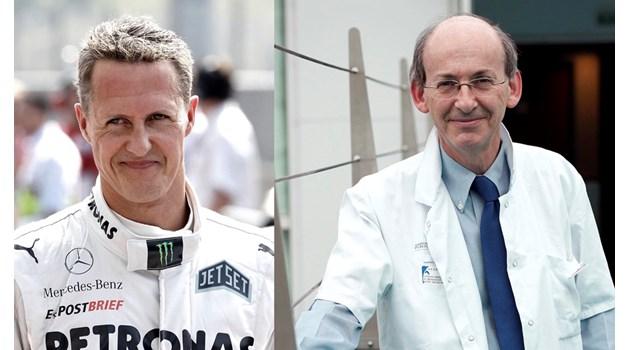 """Лекарят на Шумахер пред """"168 часа"""": Методът ни позволява частично да възстановим увредени сърца"""