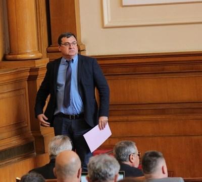 Славчо Атанасов в парламента