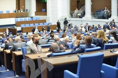 Депутатите в зала СНИМКА: Архив