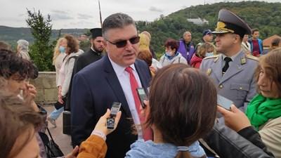 Служебният военен министър Георги Панайотов СНИМКА: Дима Максимова