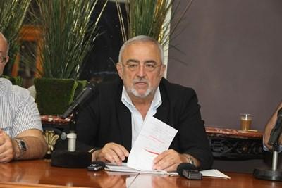 """Директорът на НТ """"Иван Вазов"""" обяви общо 12 премиери през новия сезон. СНИМКА: Божидар Марков"""