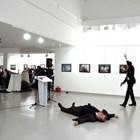 Андрей Карлов бе застрелян на 19 декември 2016 г. по време на откриването на фотоизложба в Анкара. СНИМКА: Ройтерс