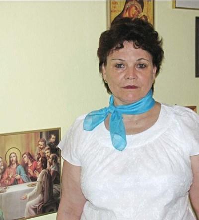 Надя Андреева в работна обстановка вкъщи. СНИМКИ АВТОРЪТ
