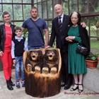 Семейството на Васил Говедарски - авторът на мечетата, с царската фамилия, която ще ги притежава СНИМКИ: ЛИЧЕН АРХИВ И ПАРАСКЕВА ГЕОРГИЕВА