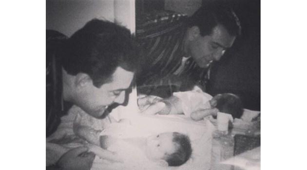 Виж непубликувана снимка на боса Филип Найденов - Фатик. С нея дъщеря му почете рождения му ден