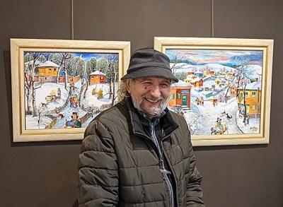 Димитър Вецин с Коледна изложба