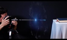 Изстрелване на летящ обектив-куршум