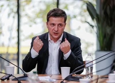 Украинският президент Володимир Зеленски Снимка: Ройтерс