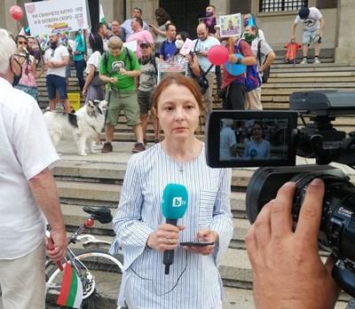 Канна Рачева очаква включване пред Съдебната палата в сряда, 29 юли.