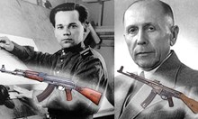 Свалена гравюра от новооткрития паметник на Калашников отново напомни, че Хуго Шмайзер е истинският създател на легендарното оръжие