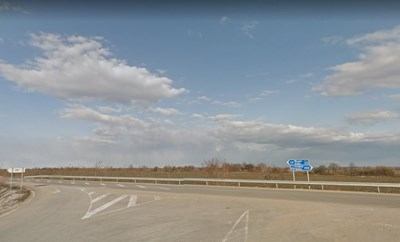 Пътят Видин - Монтана СНИМКА: Google Street View