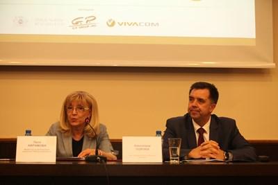 Министър Петя Аврамова и зам.-председателят на УС на Фонда на фондовете Александър Георгиев представиха пред кметовете от Североизтока възможностите за финансиране на общините.