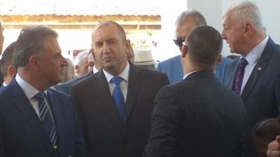 Президентът Румен Радев в Труд