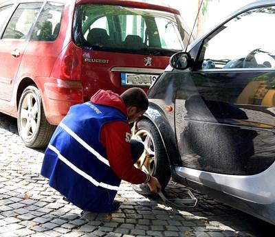 Санкциите със скоби в Пловдив се засилват още повече. Снимка: Евгени Цветков