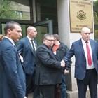 Сотир Цацаров и Иван Гешев след края на заседанието