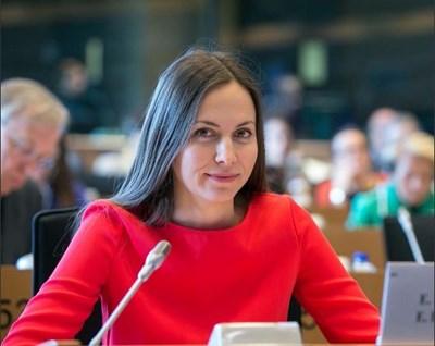 Ева Майдел СНИМКА: пресцентърът на ГЕРБ
