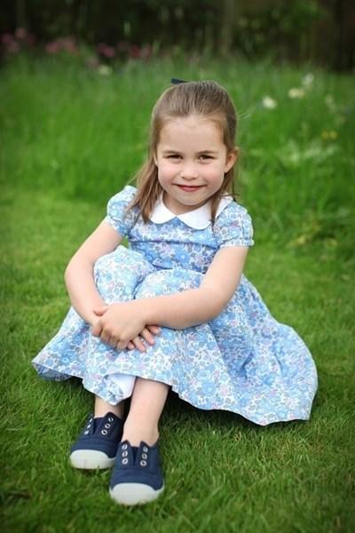 Принцеса Шарлот СНИМКИ: Ройтерс