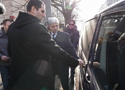 Бившият министър Нено Димов беше задържан на 9 януари т. г., а от 9 септември е на свобода срещу подписка.