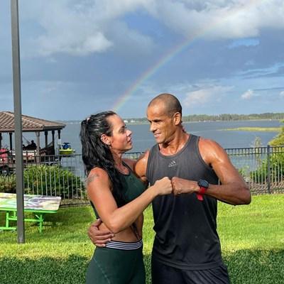 Ривалдо и Елиза са във Флорида