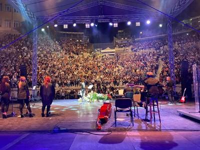 Кадър от концерта в Пловдив. Снимка: Официален профил на Лили Иванова във Фейсбук