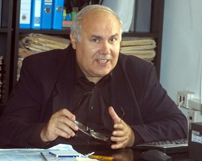 Костадин Чакъров почина на 70 години. СНИМКА: Румяна Тонeва