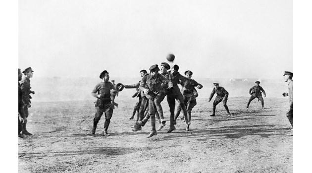 Игра ли се наистина коледният мач по време на Първата световна война?