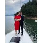 Нора Шопова и годеникът й Снимки: Личен профил на Нора Шопова в инстаграм