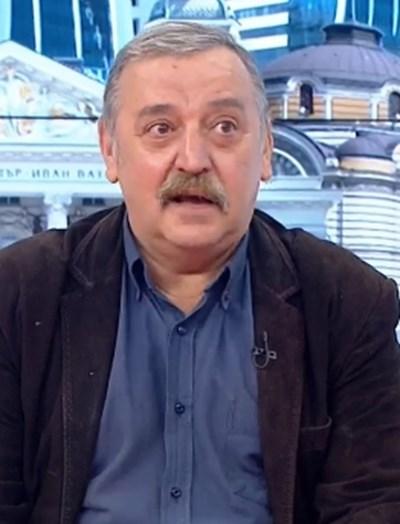 Директорът на Националния център по заразни и паразитни болести проф. Тодор Кантарджиев КАДЪР: БНТ