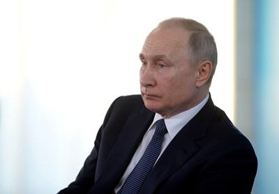 Путин ще разговаря по-късно днес с лидерите на останалите страни от Г-20 на извънредна видеоконференция, посветена на борбата с пандемията. СНИМКА: Ройтерс
