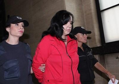Емилия Ковачева в съда СНИМКА: Йордан Симeонов