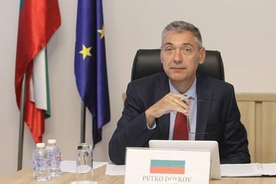 Заместник-министърът на външните работи Петко Дойков. Снимки външно министерство