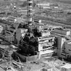 Така изглежда корпусът на Чернобилската АЕЦ веднага след взрива.