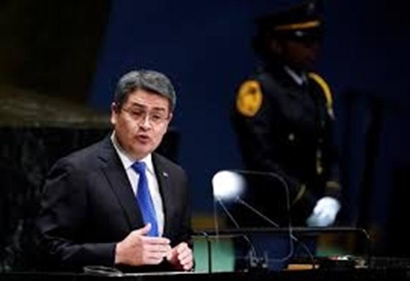 Президентът на Хондурас Хуан Орландо Ернандес СНИМКА: Ройтерс