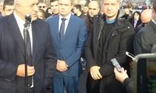 Политиците да си мерят повече думите, призова Бойко Борисов от Стара Загора (Обновена, видео)