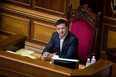 Президентът на Украйна Володимир Зеленски СНИМКА: РОЙТЕРС