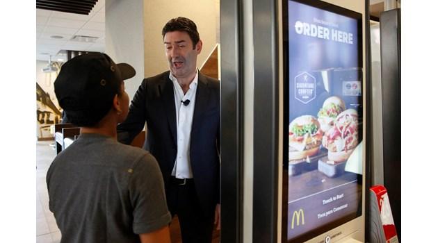 """Уволниха шефа на """"Макдоналдс"""" заради любовна забежка със служителка"""