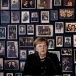 Вчера германският канцлер Ангела Меркел посети бившия нацистки немски концентрационен лагер Аушвиц-Биркенау край Освиецим, Полша. Снимка: Ройтерс