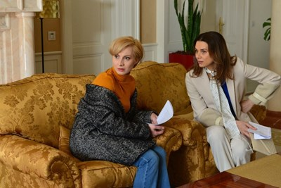 Актрисите Вера Йорданова и Анастасия Лютова, които влизат в образите на двете сестри СНИМКА: Би Ти Ви