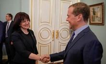 """Медведев към Караянчева: """"Росатом"""" ще се включи за АЕЦ""""Белене"""""""