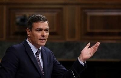 Испанският министър-председател Педро Санчес СНИМКА: Ройтерс
