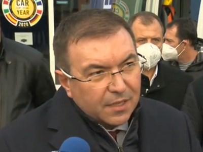 Министърът на здравеопазването проф. Костадин Ангелов КАДЪР: БНТ