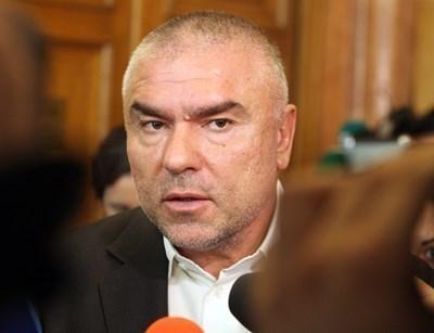 """Лидерът на партия """"Воля"""" Веселин Марешки СНИМКА: Архив"""