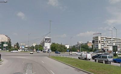 Верижна катастрофа в София затрудни движението