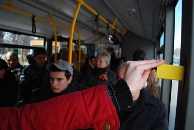 """От декември догодина перфораторите на столичния градски транспорт ще отидат в историята.  СНИМКА: """"24 ЧАСА"""""""