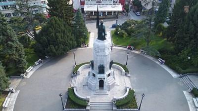 Паметникът заблестя обновен и укрепен СНИМКА: Община Велико Търново