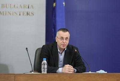 Доц. Димо Димов СНИМКА: Правителствената пресслужба