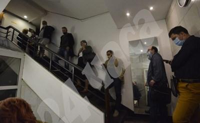 Тестове за COVID-19 се правят на всички членове на Националния съвет на БСП СНИМКИ: Йордан Симеонов