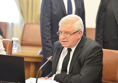 Финансовият министър в оставка Кирил Ананиев.