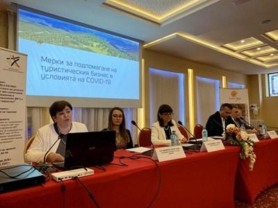 В Сливен днес се състоя изнесено заседание на Националния съвет по туризъм. Снимка министерство на туризма